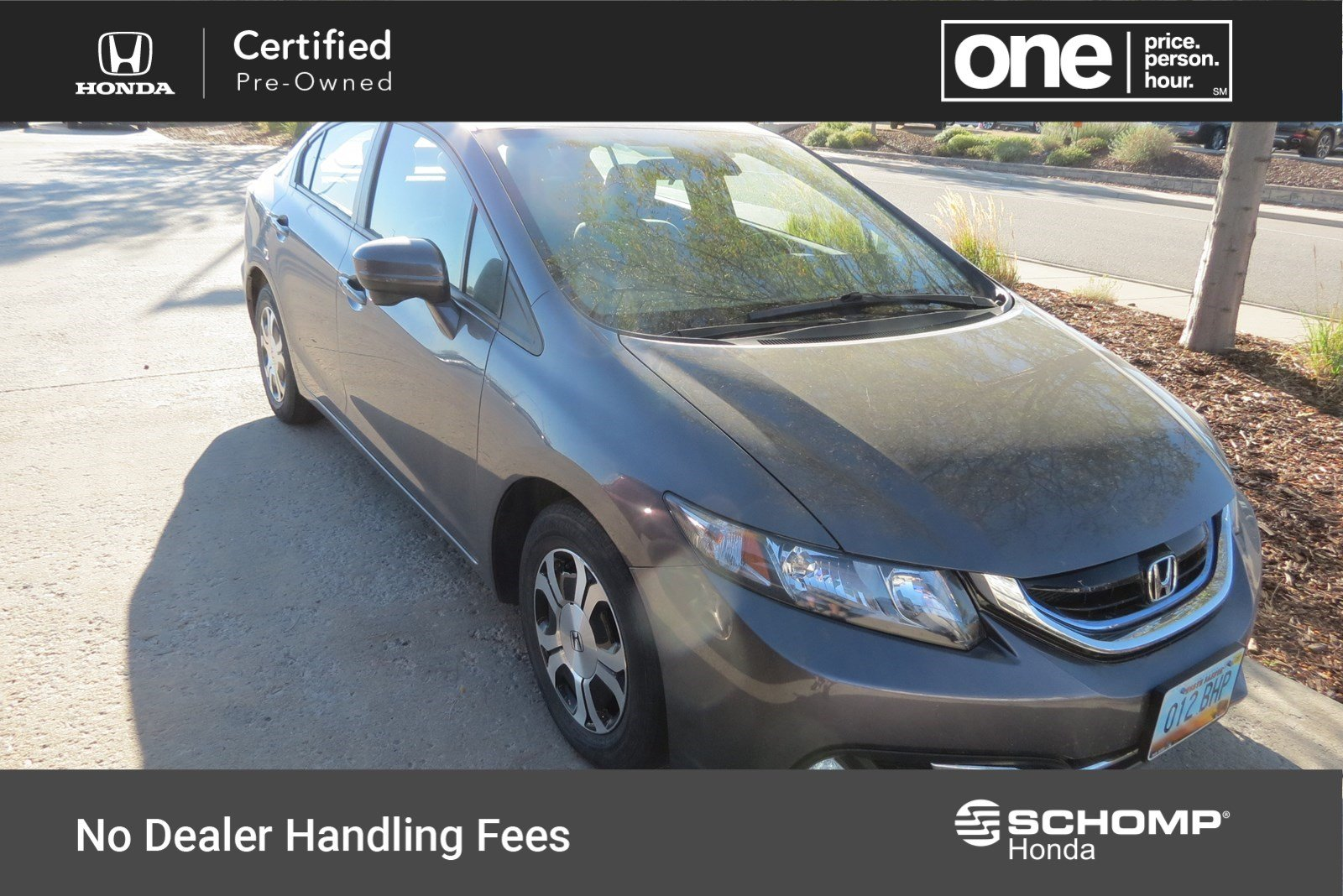 Certified Pre Owned 2015 Honda Civic