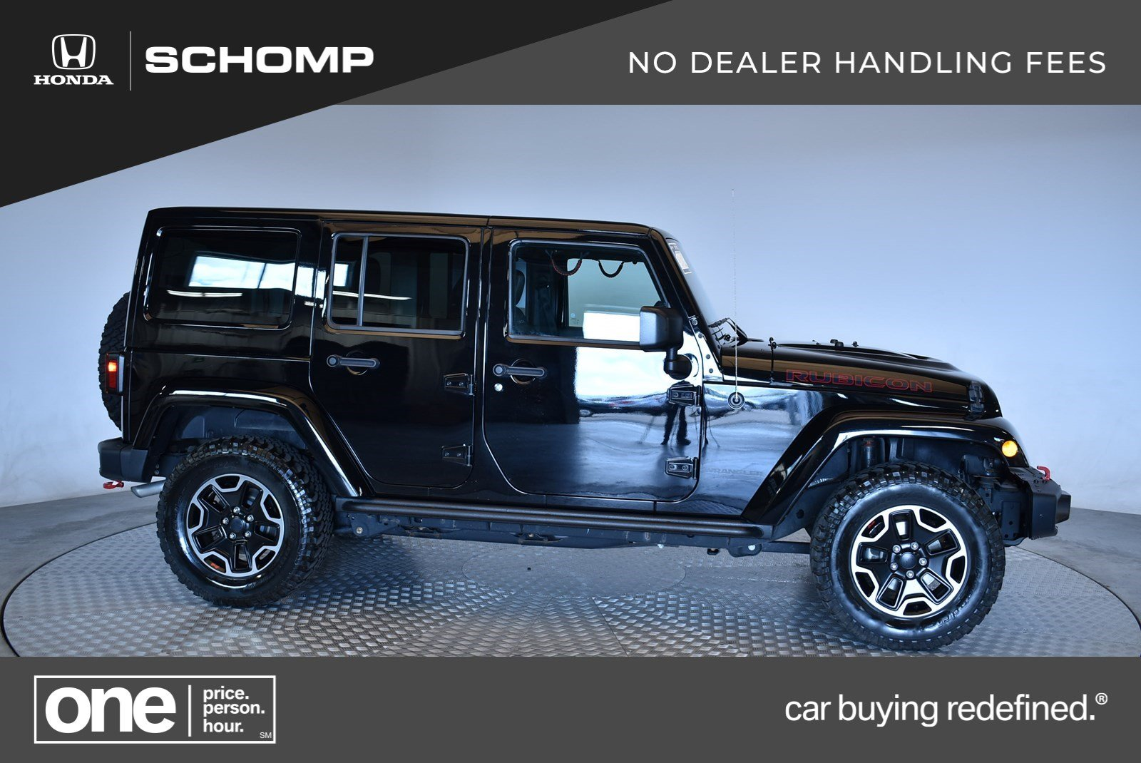 Pre Owned 2016 Jeep Wrangler Unlimited Rubicon Hard Rock Convertible In Highlands Ranch 2p9155 Schomp Honda