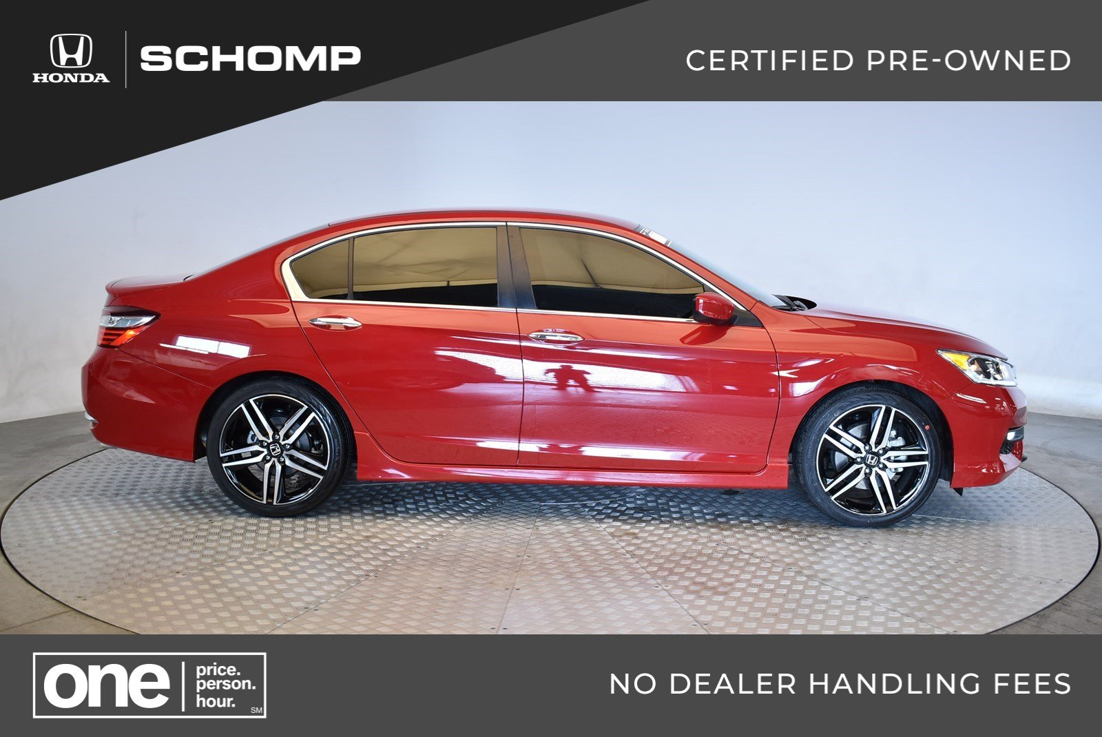 Certified Pre Owned 2017 Honda Accord Sedan Sport 4dr Car In Highlands Ranch 2hp9130 Schomp