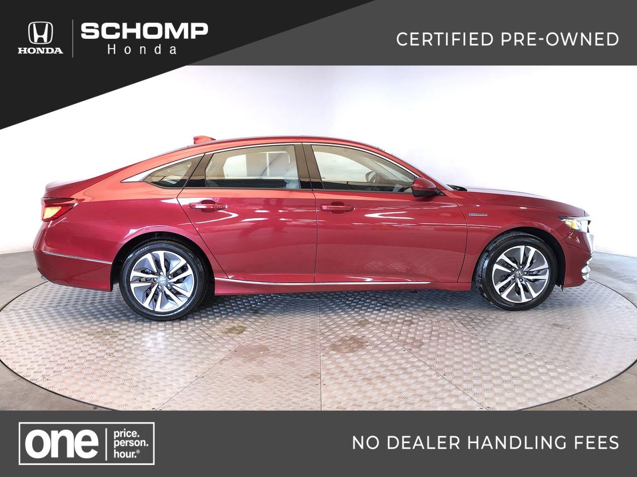 Certified Pre-Owned 2018 Honda Accord Hybrid EX