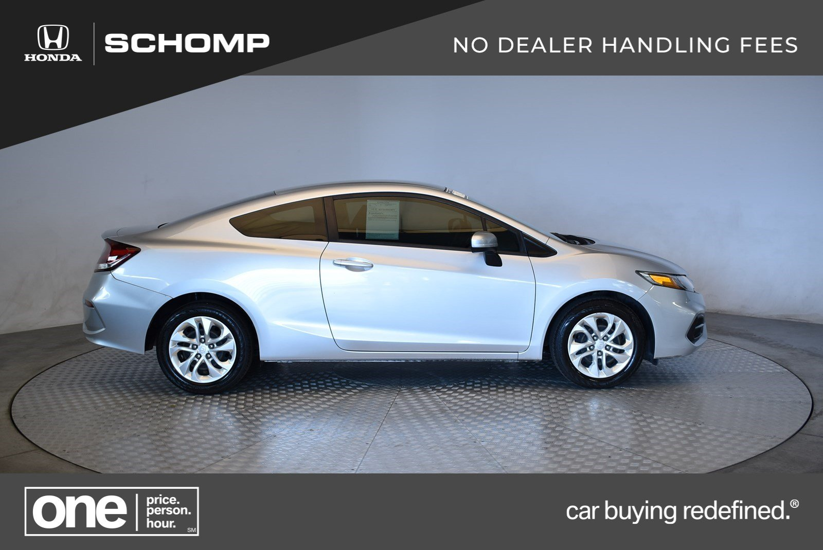 Pre Owned 2015 Honda Civic Lx 2dr Car In Highlands Ranch 2hp9189