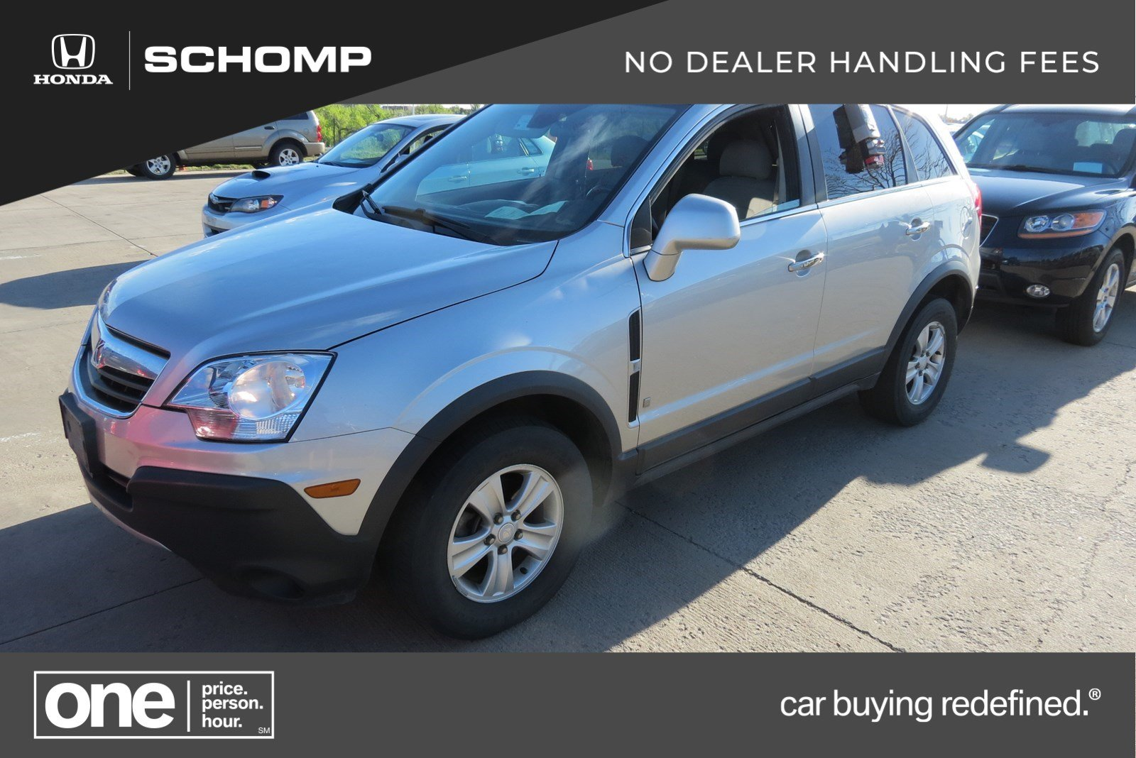 Pre Owned 2008 Saturn Vue Xe Sport Utility In Highlands Ranch 2h90978a Schomp Honda