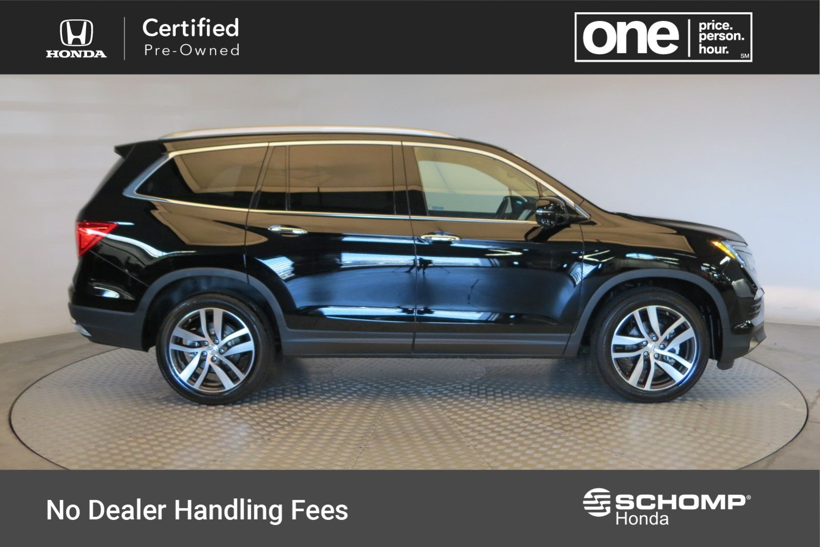 Certified Pre Owned 2018 Honda Pilot Touring Sport Utility In