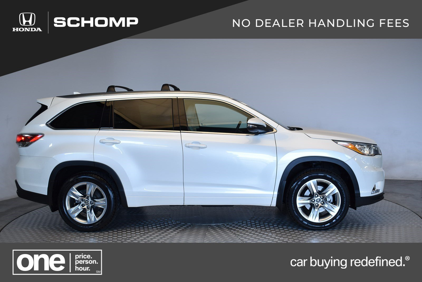 Pre Owned 2016 Toyota Highlander Limited Platinum Sport Utility In Highlands Ranch 2p9168 Schomp Honda