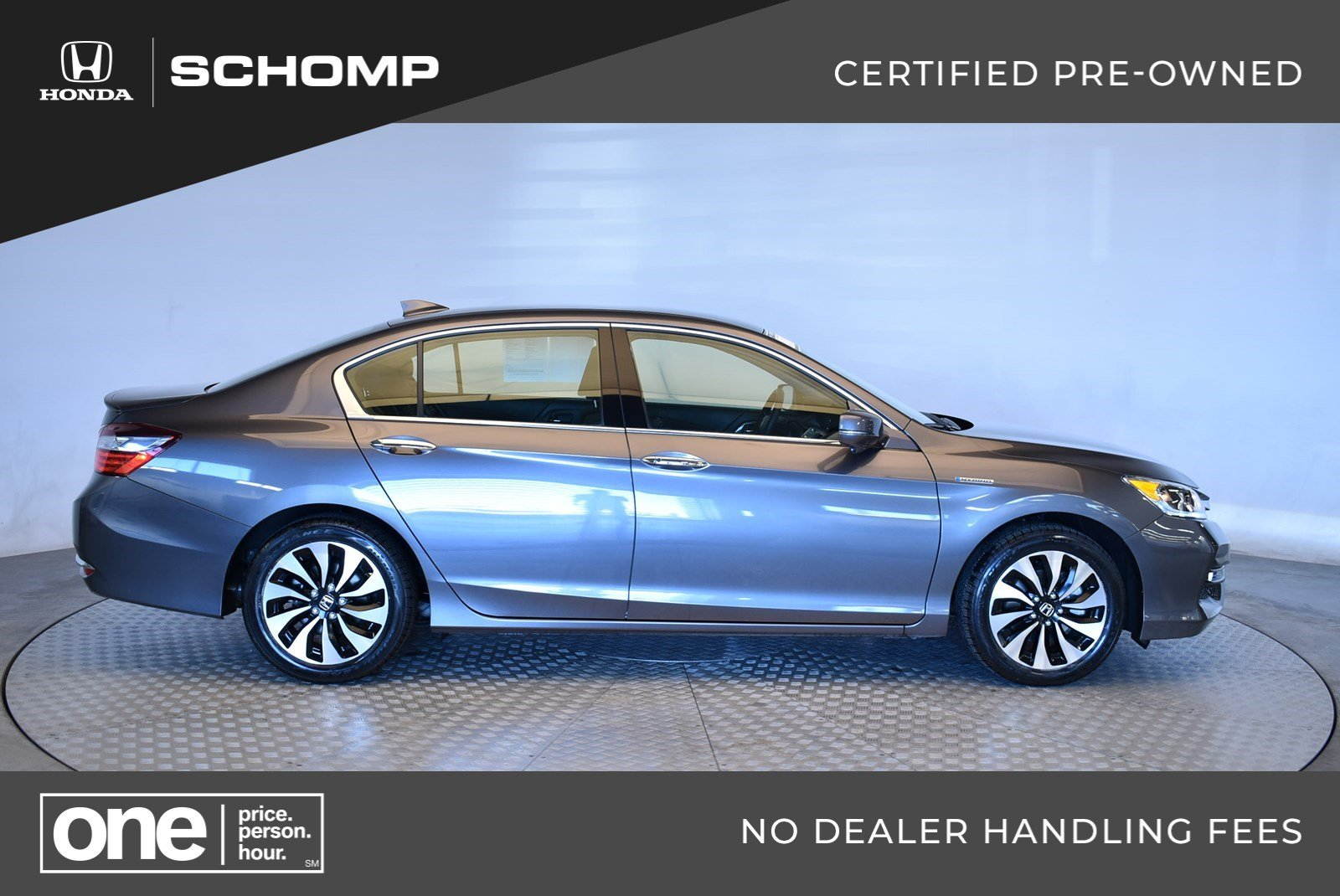 Certified Pre Owned 2017 Honda Accord Hybrid 4dr Car In Highlands Ranch 2hp9094 Schomp