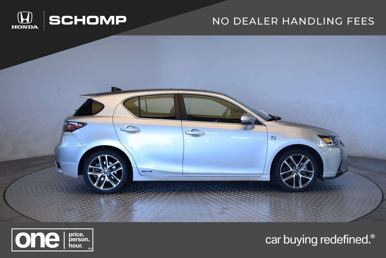 Pre Owned 2017 Lexus Ct 200h Hybrid Hatchback In Highlands Ranch 2hp9048a Schomp Honda